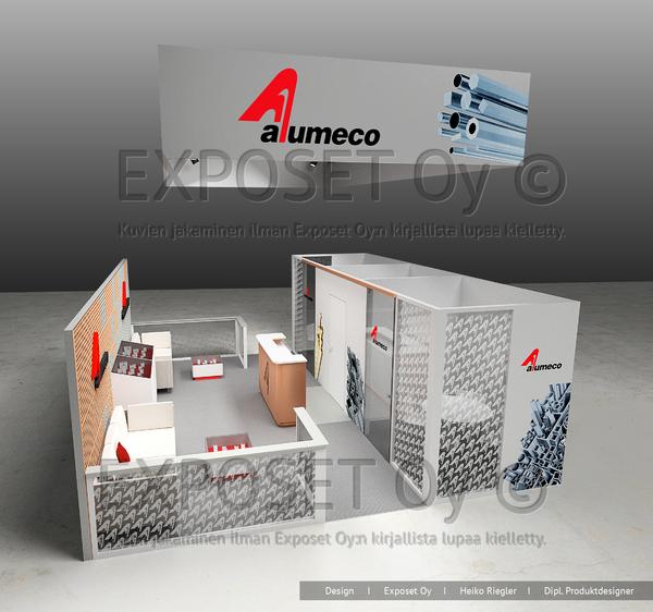 Osastosuunnitelma Alumeco Oy