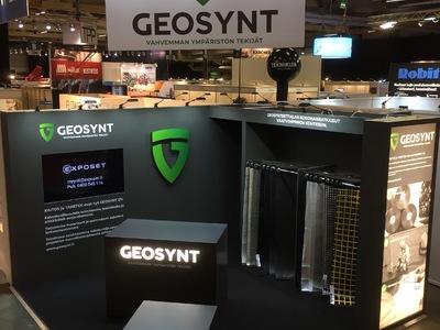 Geosynt FinnMATERIA 2018 Jyväskylä