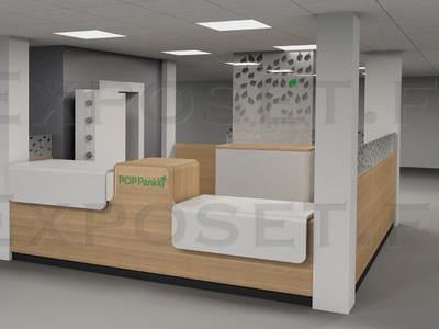 POP-pankki palvelupisteen suunnittelu